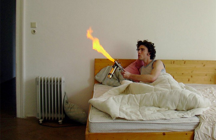 Mosquito Flamethrower