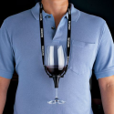 You're Lazy: Wine Glass Holder Necklace