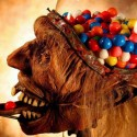 Zombie Head Dispenses Gumballs, Not Brains