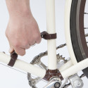 Simple Handle Makes Carrying Your Bicycle Easier