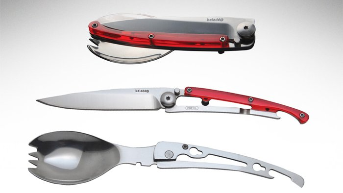 Baladeo Folding Cutlery Set