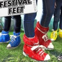 Festival Feet Shoe Covers Will Make It Look Like You've Got Giant Chucks On