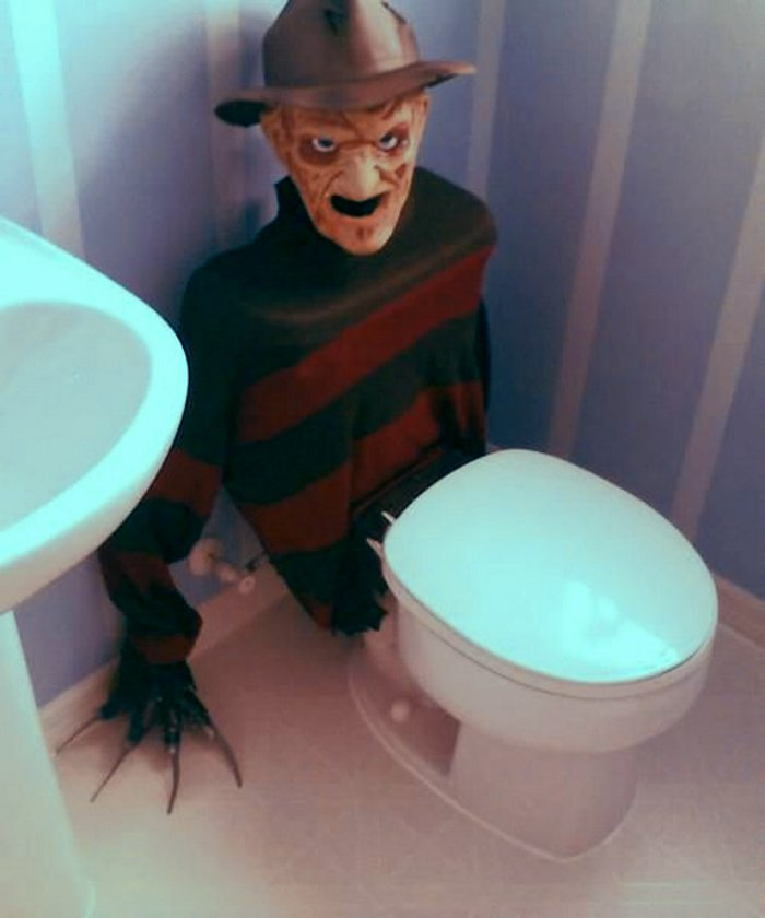 Freddy Krueger Toilet Cover