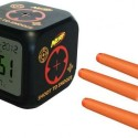 Shoot to Snooze Alarm Clock Sleeps Only When You Hit the Bullseye