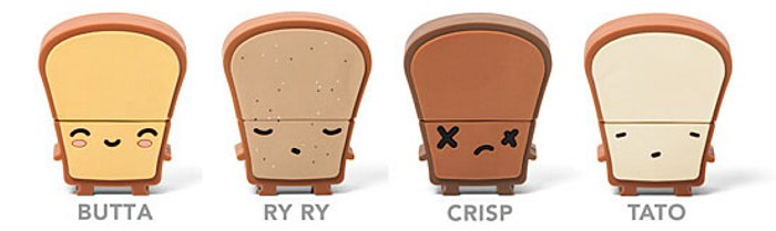 Toast USB Drives