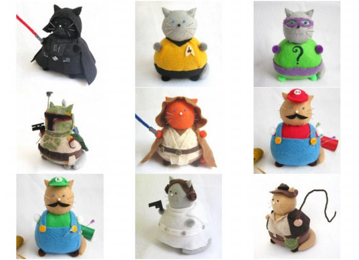 Fat Pincushion Cats