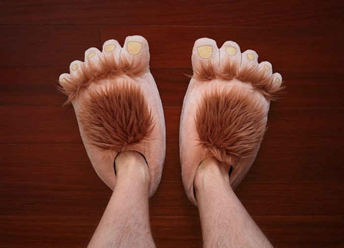 Hobbit Foot Slippers