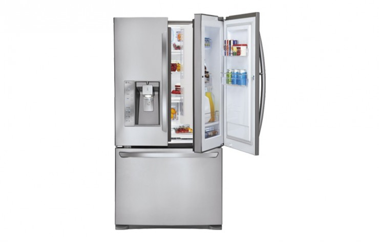 One of LG\u0027s high-end fridges has a feature called Door-In-Door which lets you quickly access your favourite items without actually you know ...