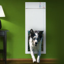 Hi-Tech Powered Pet Door Gives Your Pooch Freedom