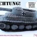 The Bitch And Stitch Club Take Notice: We Want These Panzer Slippers