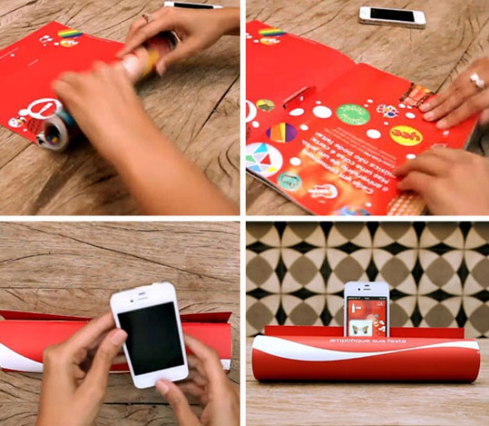 Coca Cola Smartphone Amplifier