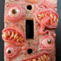 Freakishly Cool Monster Light Switch Plates Will Make You Afraid of the Dark