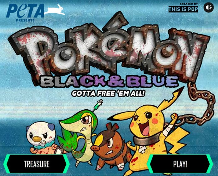 PETA vs Pokemon