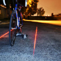 The XFire Safety Light Lets You Take Your Bike Lane With You
