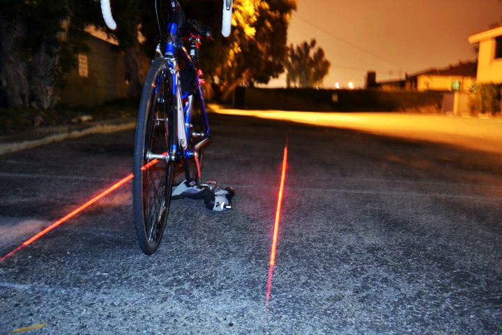 The XFire Safety Light Lets You Take Your Bike Lane With ...