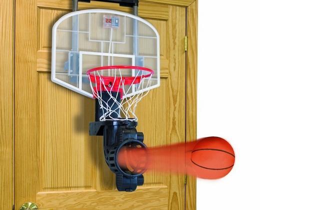 franklin shoot again is the lazyman s basketball hoop