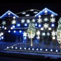 This House Does a Christmassy Version of the Gangnam Style–With Lights!