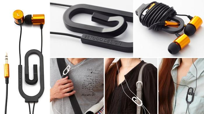 Paperclip Headphone