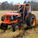 Ever Wanted To See A Tractor Do Donuts?