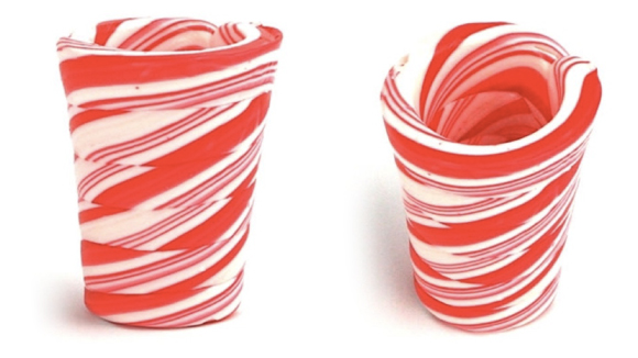 Peppermint Shot Glasses Are Perfect For Christmas | OhGizmo!