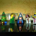 Spot the Nots: Miniature Christmas Candle Holders Bring Something New to the Nativity Scene