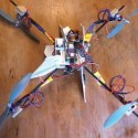 Awesome Dad Builds Quadcopter So His Son Doesn't Have to Walk to the Bus Stop Alone