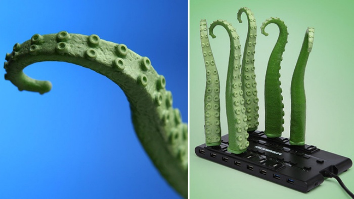 Wiggling USB Tentacle