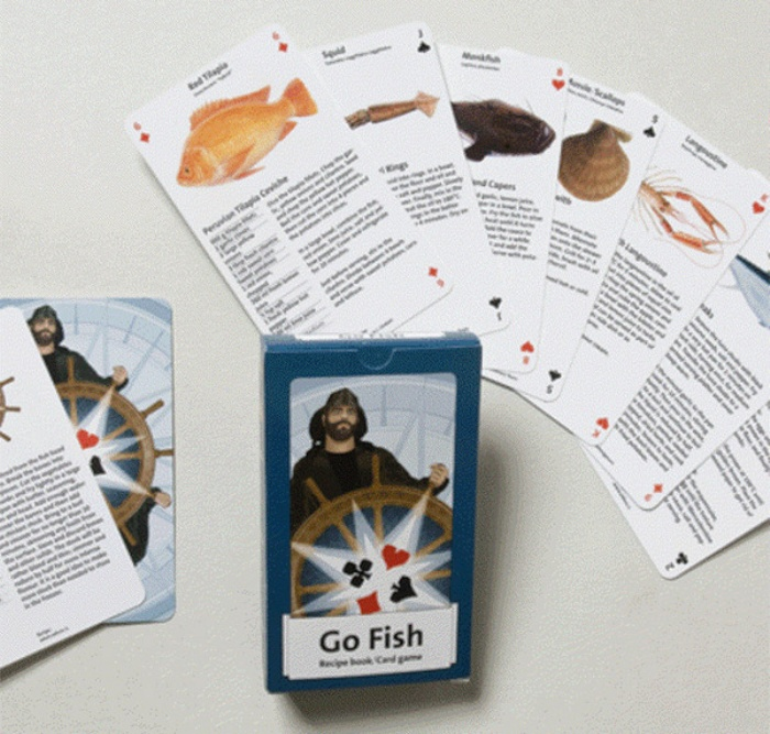 These literal go fish cards let you play go fish and for How to play go fish