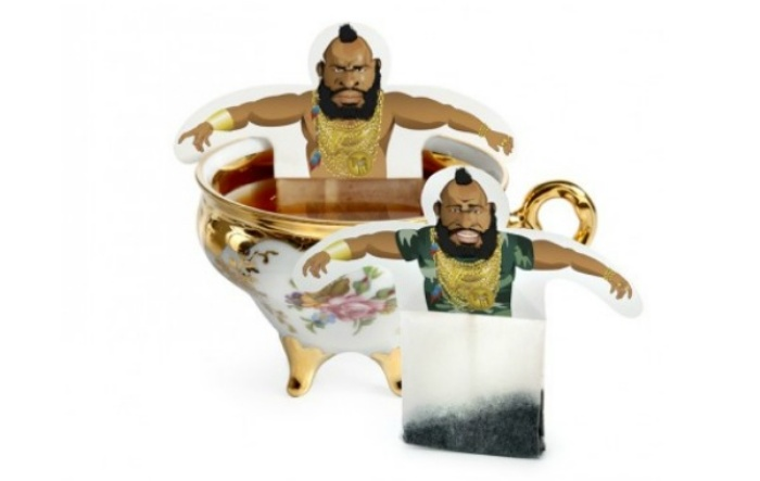 Mr. T Tea Bag