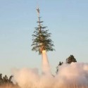 Give Your Christmas Tree the Old Heave-Ho to Outer Space