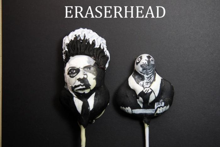 Eraserhead Cake Pops