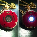 Steampunk Iron Man Reactor Pocket Watch: Can't Tell the Time, But It Keeps On Ticking