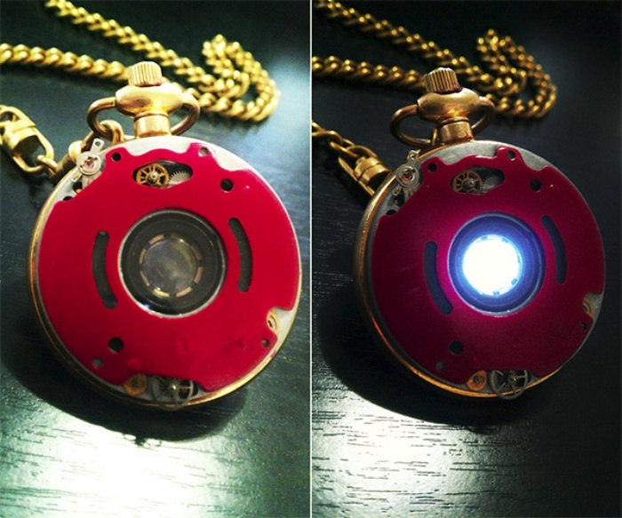 Steampunk Iron Man Reactor Watch