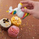 It's Rainbow-rrific: Unicorn Sprinkles Shaker Adds Magic to Every Cupcake