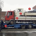 Enterprising Driver Attempts Spectacular Vehicle-ception, Is Foiled By Spoilsport Traffic Cop