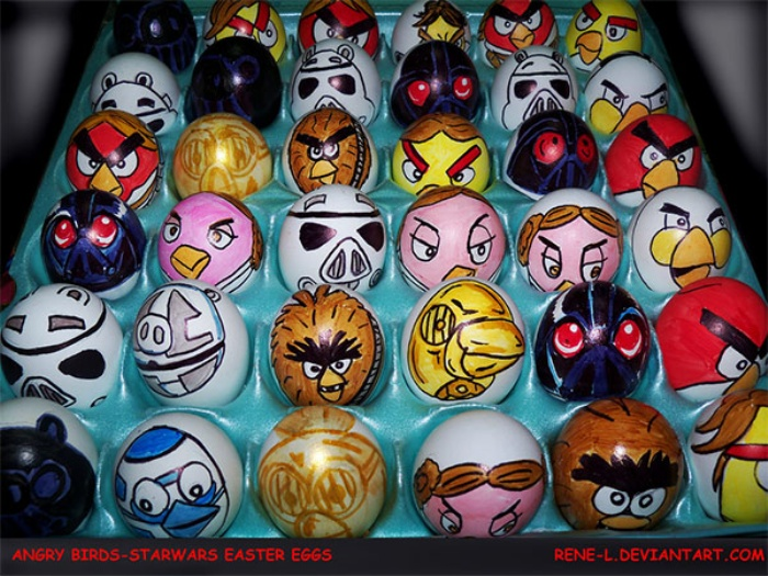 Easter Eggs Angry Birds