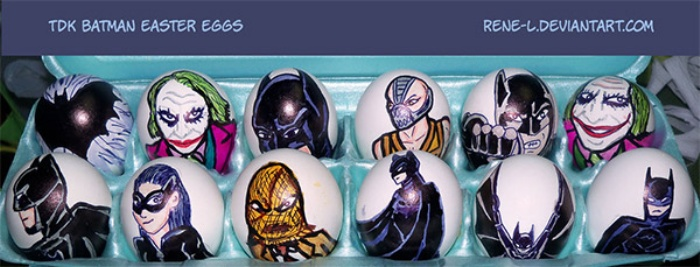 Easter Eggs Batman