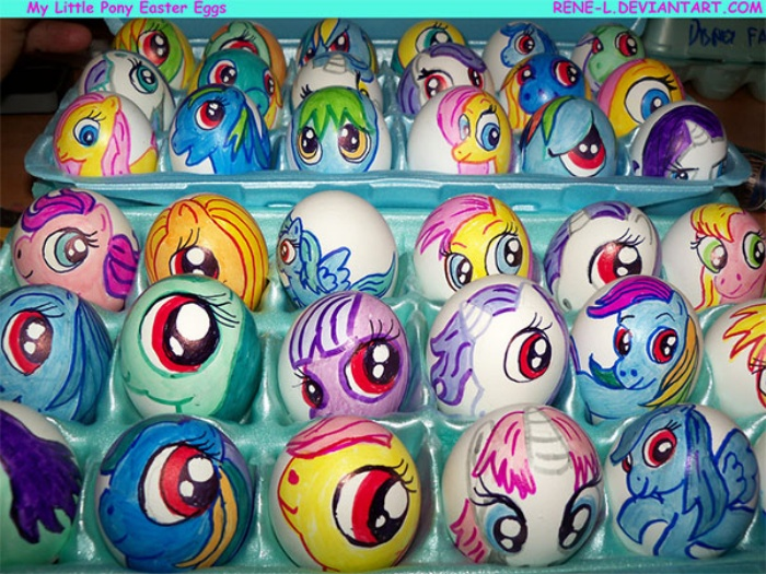 Easter Eggs My Little Pony