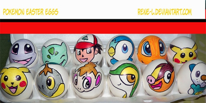 Easter Eggs Pokemon