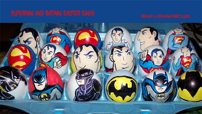 Easter Eggs Superhero
