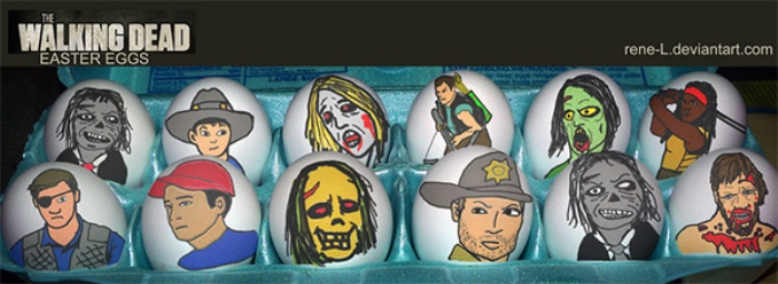 Easter Eggs Walking Dead