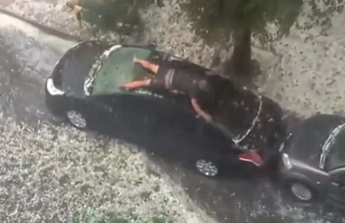 Hail Car
