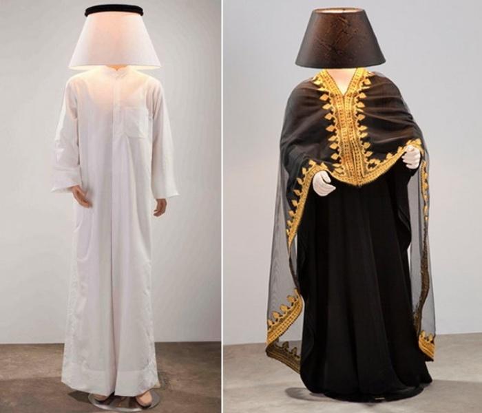 Mannequin Lamps