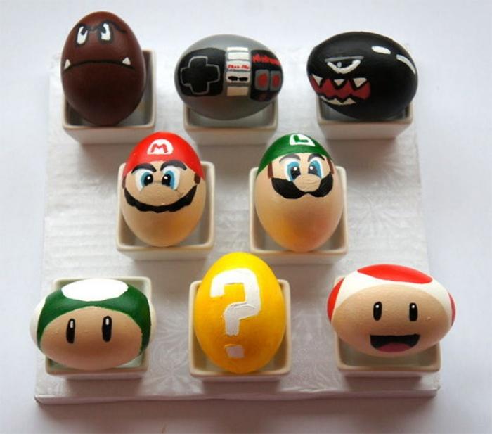 Nintendo Mario Easter Eggs