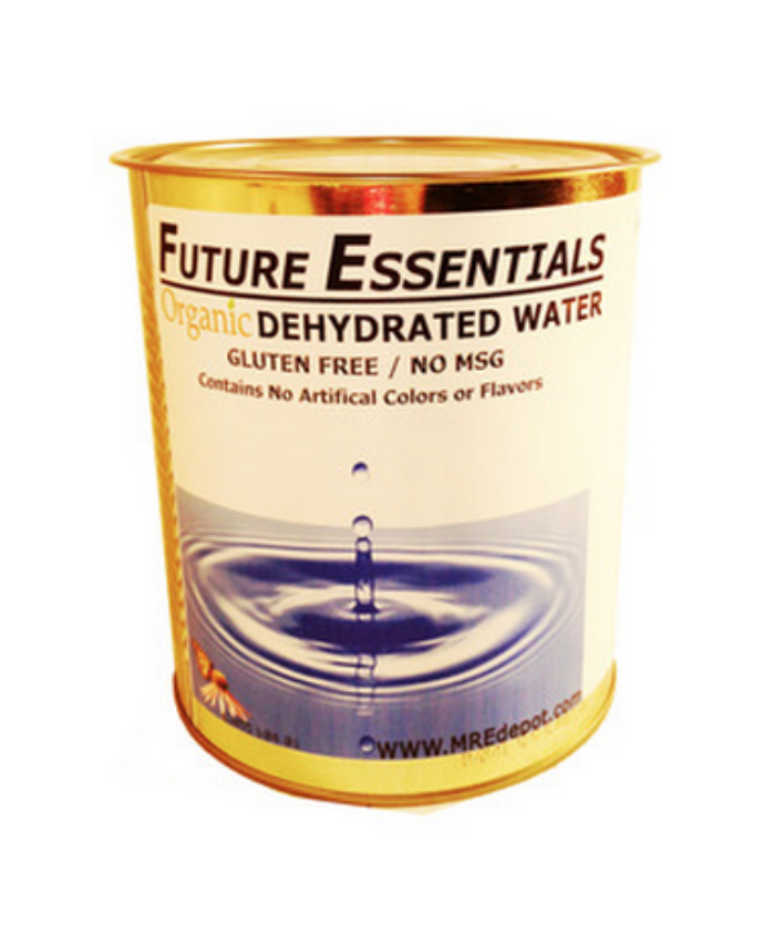 Organic Dehydrated Water