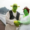 Sort-Of Fairy Tale Wedding: Couple Gets Married as Shrek and Fiona
