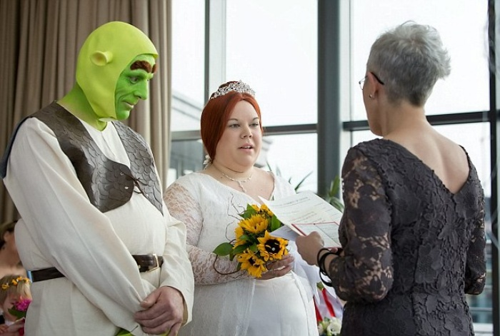 Shrek Wedding1