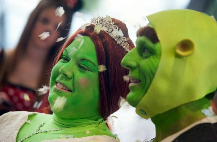 Shrek Wedding2
