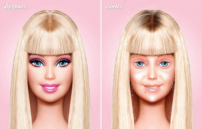 Barbie No MakeUp