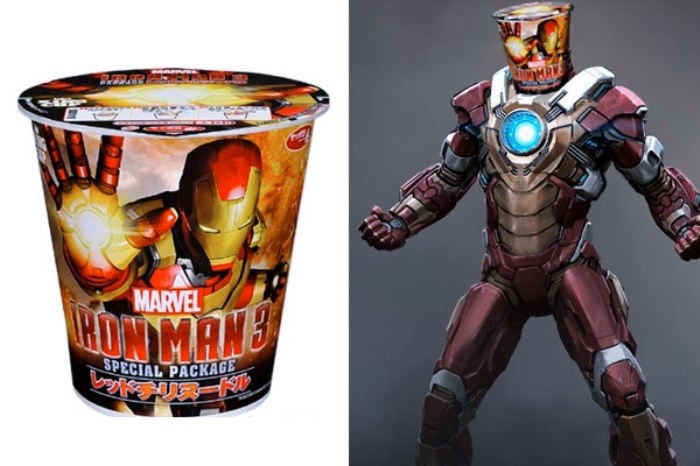 Iron Man Instant Noodles
